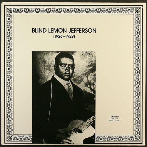 Blind Lemon Jefferson Pictures