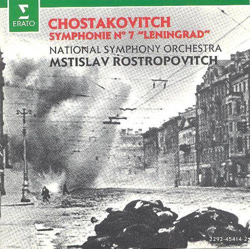 Dmitri Shostakovich, Mstislav Rostropovich, National Symphony