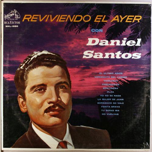 Resultado de imagen para Daniel Santos Reviviendo El Ayer