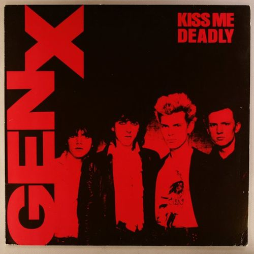 fcaa0d309ea Generation X - Kiss Me Deadly  German Issue  (Vinyl LP) - Amoeba Music