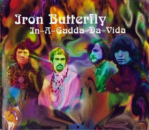 Iron butterfly in-a-gadda-da-vida (cd, album, reissue.