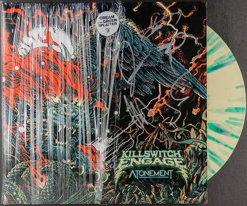 Killswitch Engage - Atonement [Cream/Green Splatter Vinyl