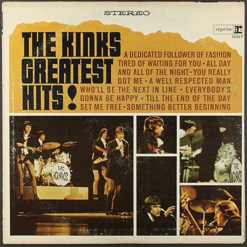 The Kinks Greatest Hits 1968 Issue LP