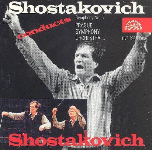 Dmitri Shostakovich, Maxim Shostakovich, Prague Symphony Orchestra