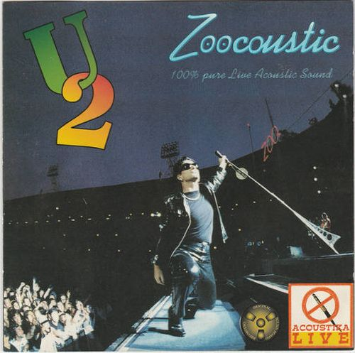 U2 - Zoocoustic Live [Import] (CD) - Amoeba Music