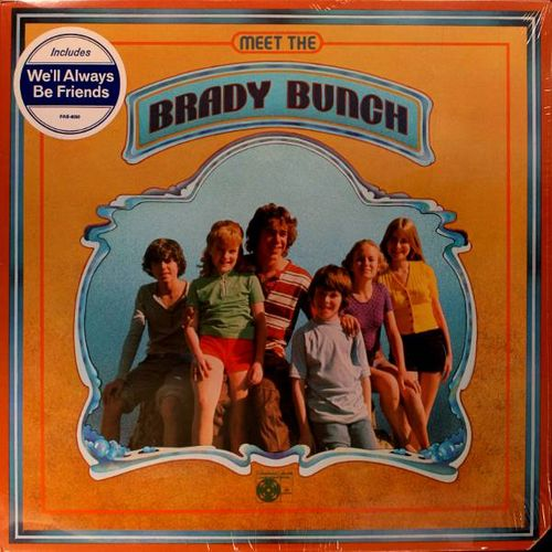 Image result for meet the brady bunch album