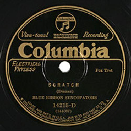 Blue Ribbon Syncopators - Scratch / Memphis Sprawler