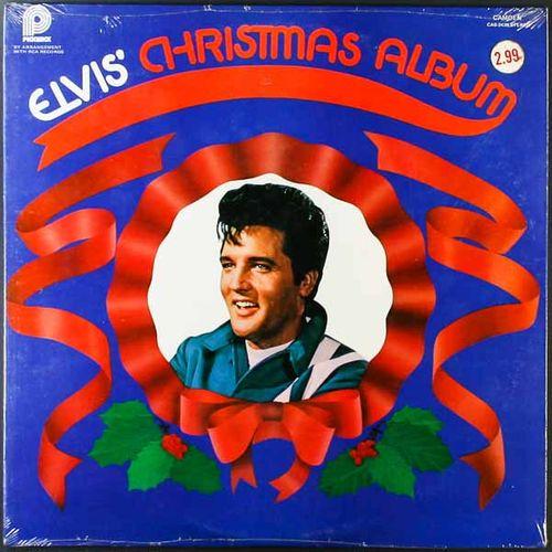 Elvis Presley Christmas Music.Elvis Presley Elvis Christmas Album 1975 Pickwick Issue