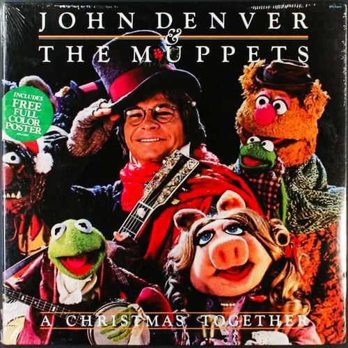 john denver a christmas together original issue lp