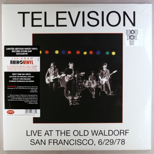 Television Live At The Old Waldorf San Francisco 6 29