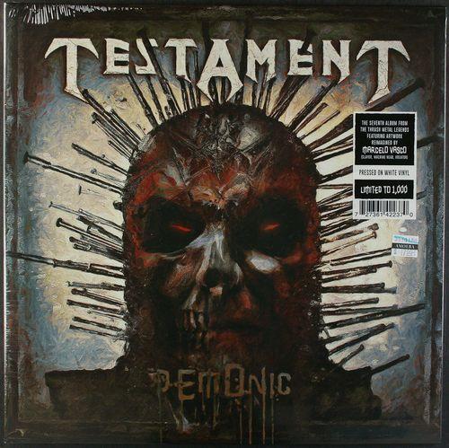 Testament Demonic White Vinyl Vinyl Lp Amoeba Music