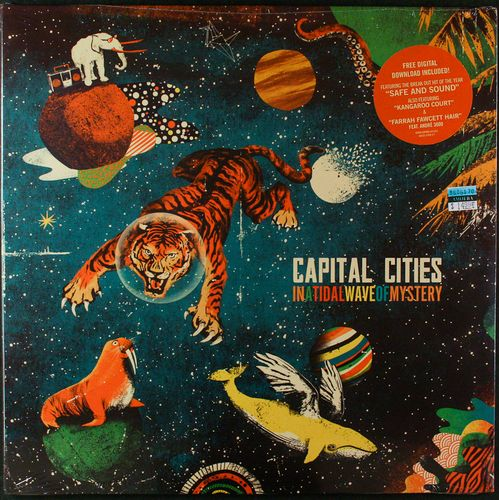 Capital Cities In A Tidal Wave Of Mystery Vinyl Lp