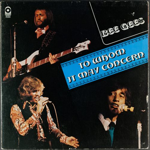 Bee Gees To Whom It May Concern Vinyl Lp Amoeba Music