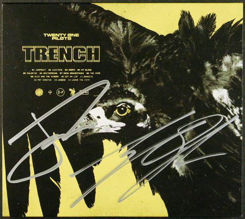 Twenty One Pilots Trench Autographed Cd Amoeba Music