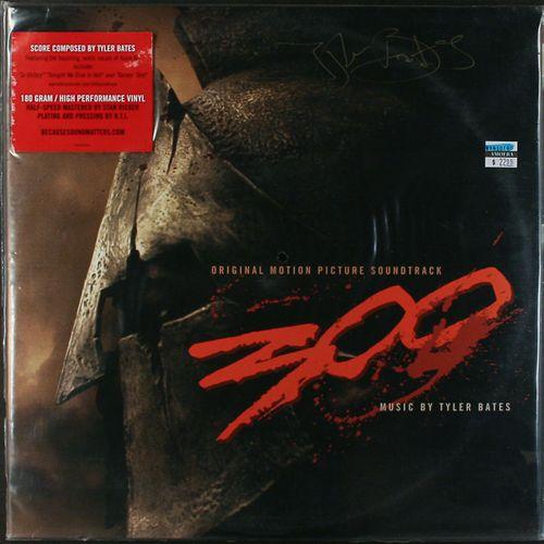Tyler Bates 300 Original Film Score 180 Gram Vinyl