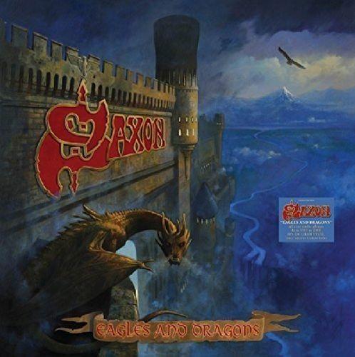 Saxon Eagles Amp Dragons Vinyl Box Set Vinyl Lp
