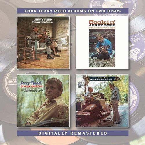jerry reed jerry reed explores guitar country cookin 39 georgia sunshine me jerry cd. Black Bedroom Furniture Sets. Home Design Ideas