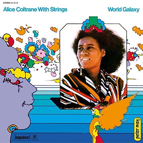 Alice Coltrane World Galaxy 180 Gram Vinyl Vinyl Lp
