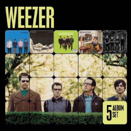 Weezer 5 Album Set Cd Amoeba Music