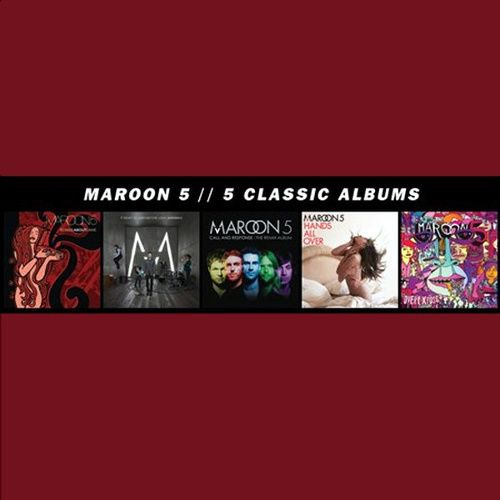 Maroon 5 5 Classic Albums Box Set Cd Amoeba Music