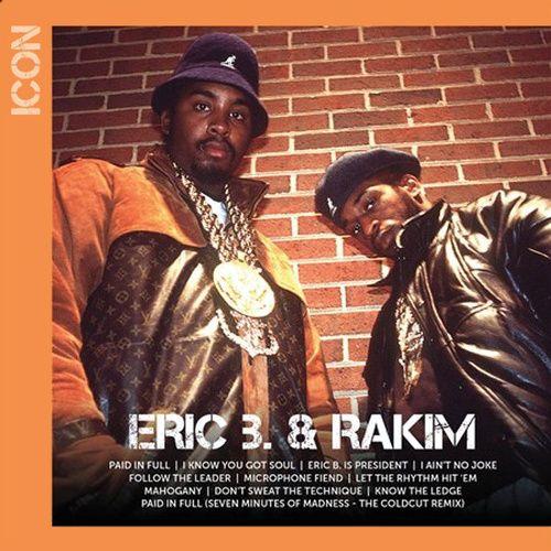 Eric B Amp Rakim Icon Cd Amoeba Music