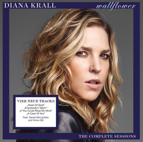 Diana Krall Wallflower The Complete Sessions Cd