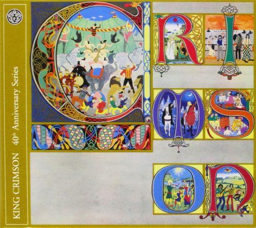 King Crimson Lizard 40th Anniversary Series Cd