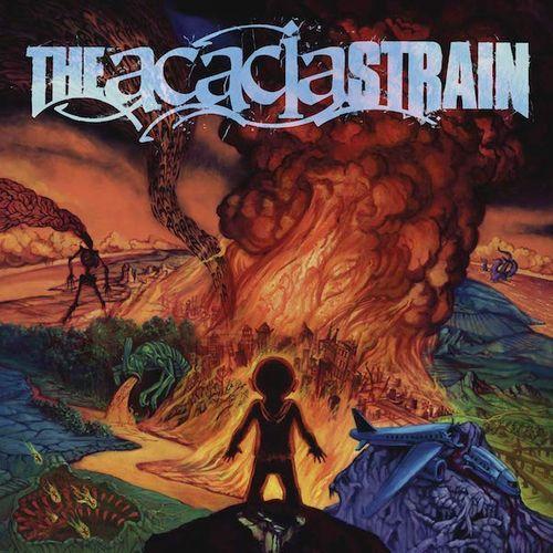 The Acacia Strain Continent Orange Magenta Splatter
