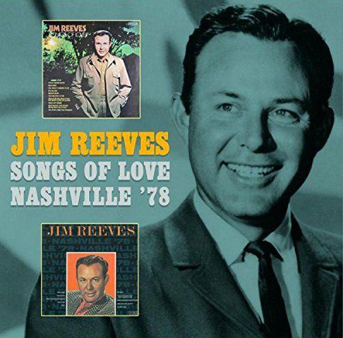 Jim Reeves Songs Of Love Nashville 78 Cd Amoeba Music