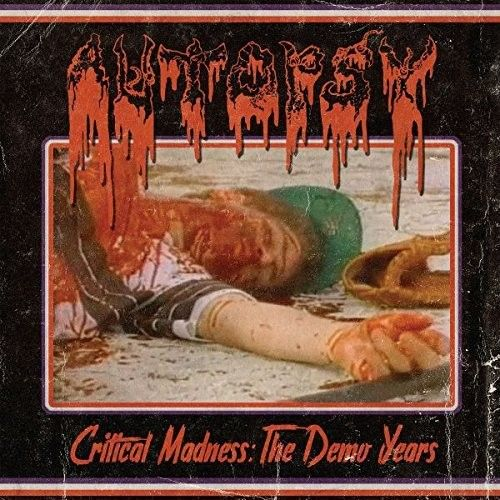 Autopsy Critical Madness The Demo Years Vinyl Lp