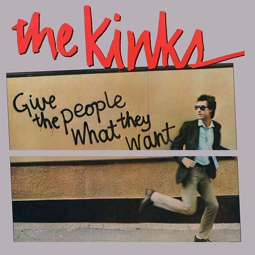 The Kinks Give The People What They Want Clear Vinyl