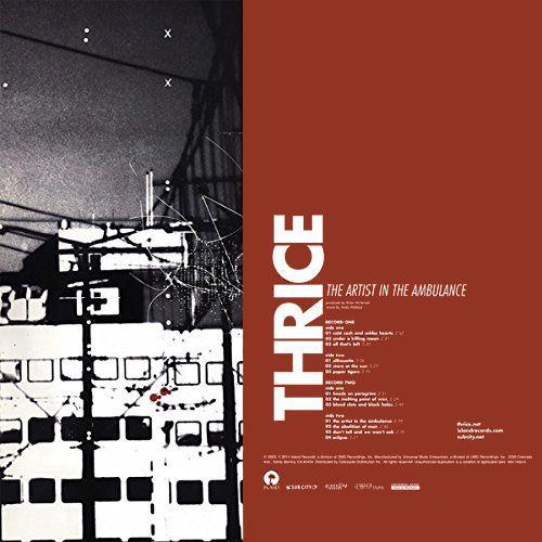 Thrice The Artist In The Ambulance Vinyl Lp Amoeba Music