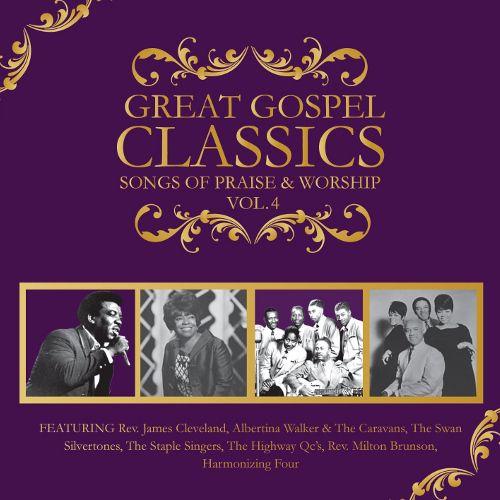 Various Artists Great Gospel Classics Vol 4 Songs Of