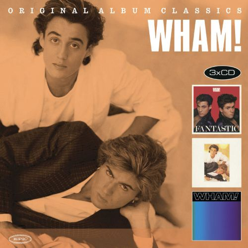 Wham Original Album Classics Cd Amoeba Music