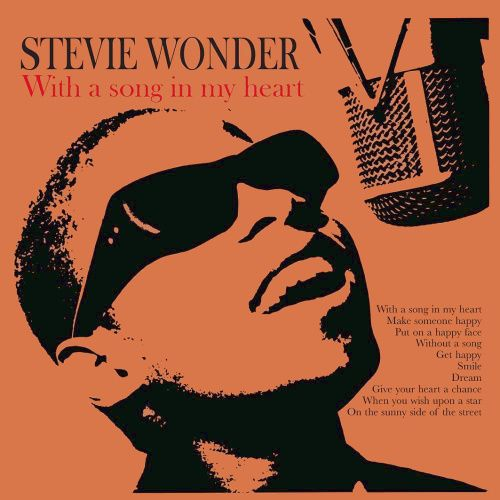 Stevie Wonder With A Song In My Heart Vinyl Lp