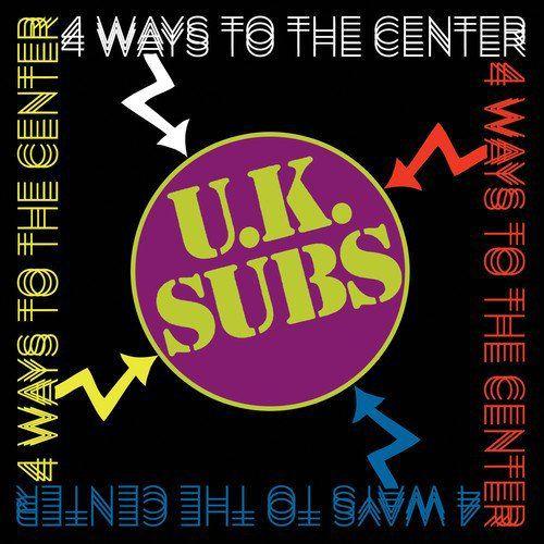 U K Subs 4 Ways To The Center Cd Amoeba Music