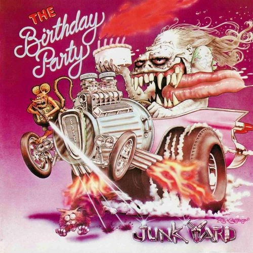 the birthday party - junkyard  200 gram vinyl   vinyl lp