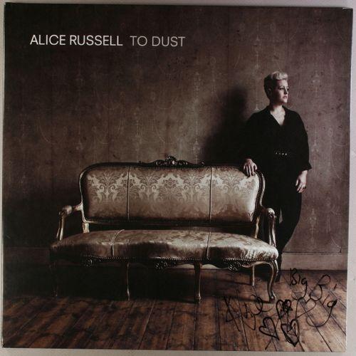 Alice Russell To Dust Autographed Vinyl Lp Amoeba