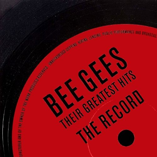 Bee Gees Their Greatest Hits The Record Cd Amoeba Music