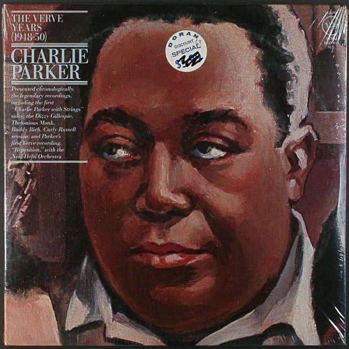 Charlie Parker The Verve Years 1948 50 Vinyl Lp