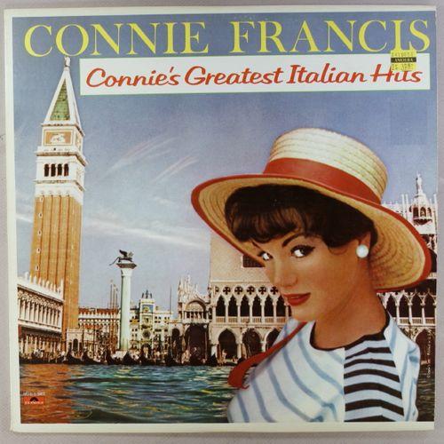 Connie Francis Connie S Greatest Italian Hits Vinyl Lp