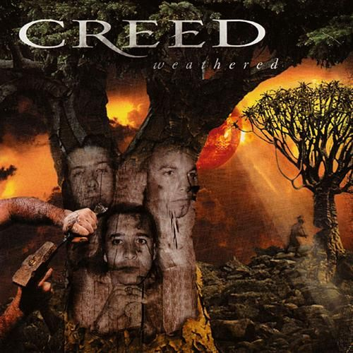 Creed Weathered Cd Amoeba Music