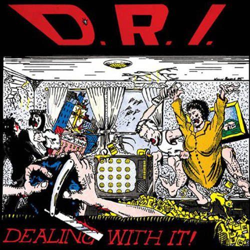 D R I Dealing With It Green Vinyl Vinyl Lp