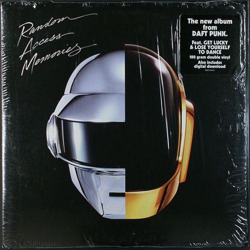 Daft Punk Random Access Memories 180 Gram Vinyl Vinyl