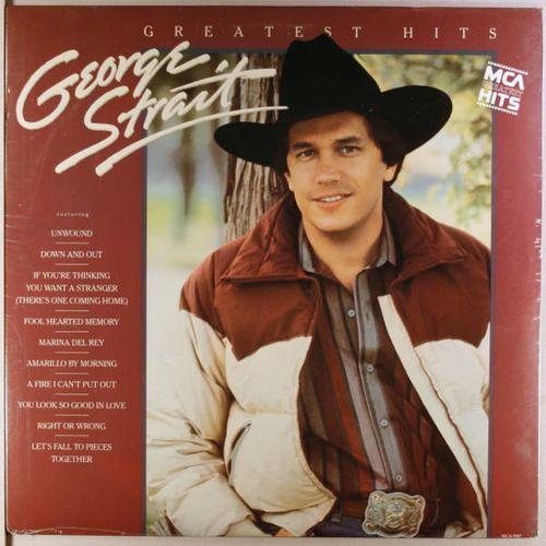 George Strait Greatest Hits Vinyl Lp Amoeba Music