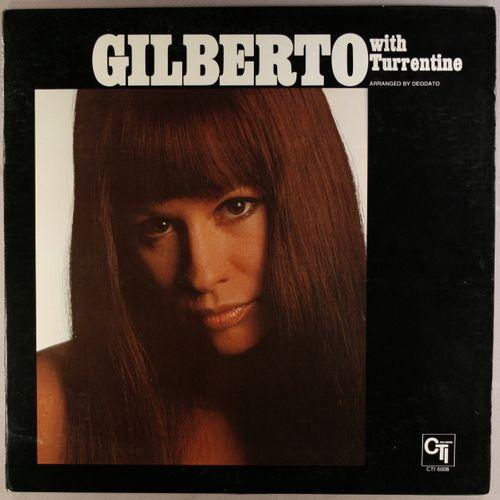 Astrud Gilberto Gilberto With Turrentine Vinyl Lp