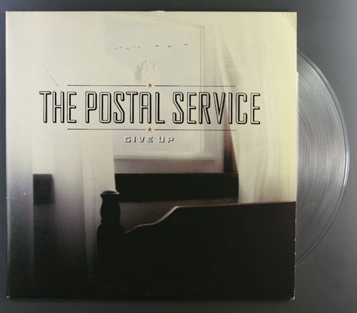 The Postal Service Give Up Clear Vinyl Vinyl Lp