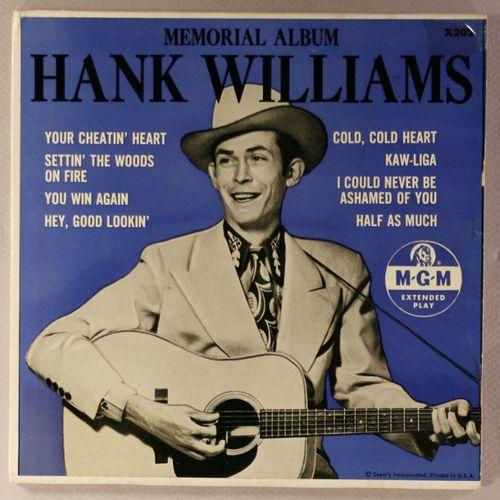 Hank Williams Memorial Album Vinyl 7 Quot Amoeba Music