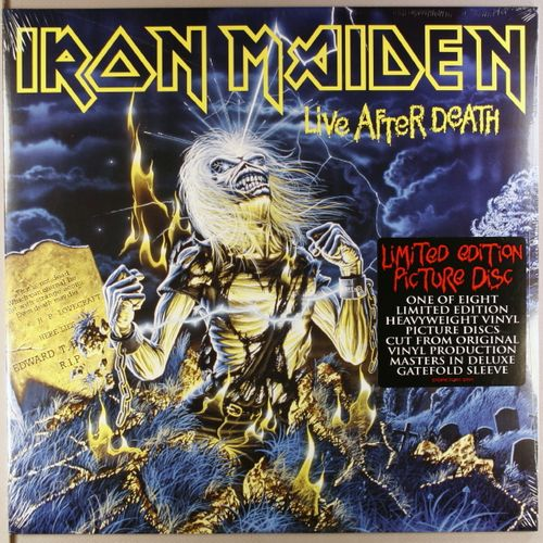 Iron Maiden Live After Death Ltd 2x Picture Disc
