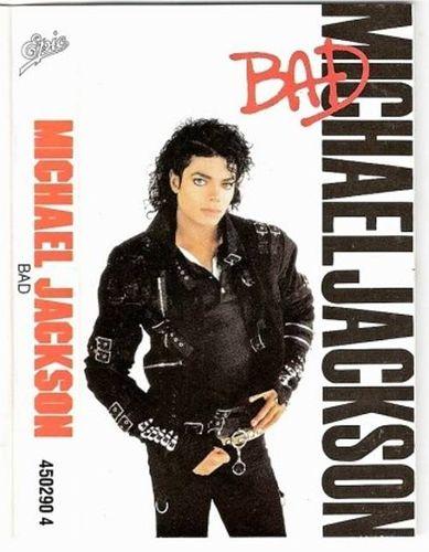 Michael Jackson Bad Cassette Amoeba Music